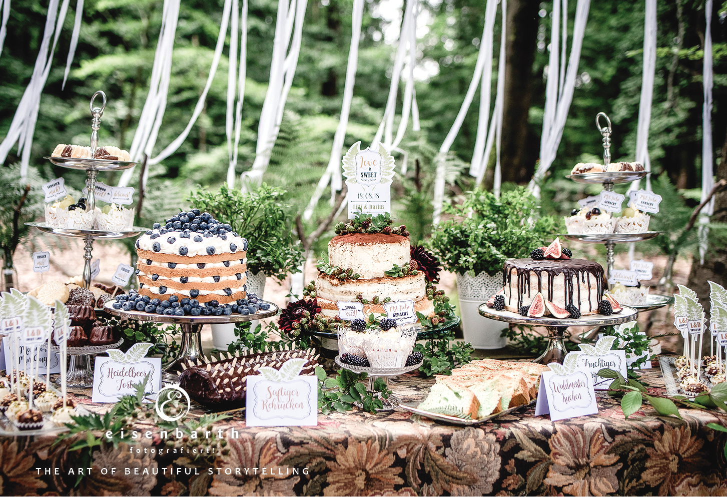 vintage woodland wedding � eisenbarth fotografie